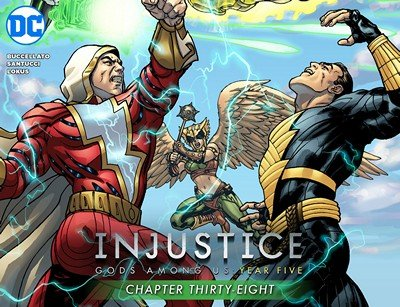 Injustice – Gods Among Us – Year Five #38 (2016)