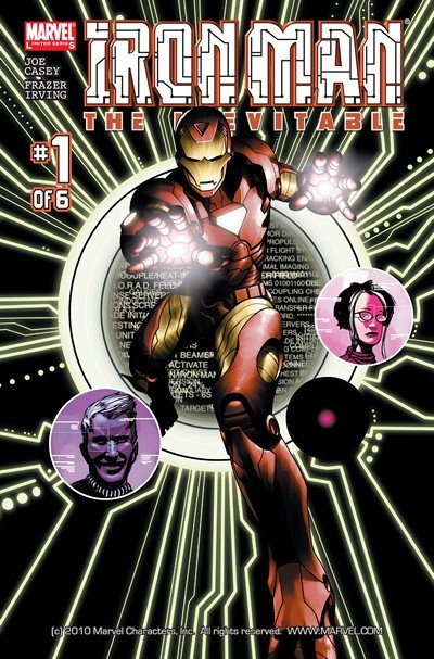 Iron Man – The Inevitable #1 – 6 + TPB (2006 + 2015)
