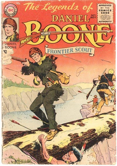 Legends Of Daniel Boone #1 – 8 (1955)