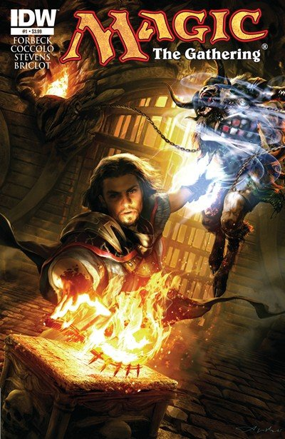 Magic – The Gathering #1 – 4 (2011-2012)
