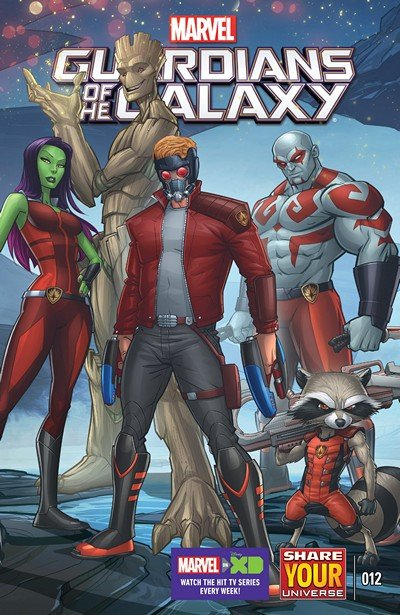 Marvel Universe Guardians of the Galaxy #12 (2016)
