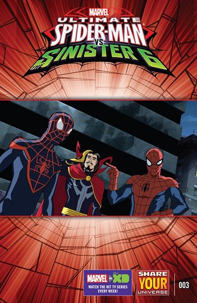 Marvel Universe Ultimate Spider-Man vs. The Sinister Six #3 (2016)