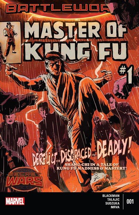 Master of Kung Fu #1 – 4 (2015)