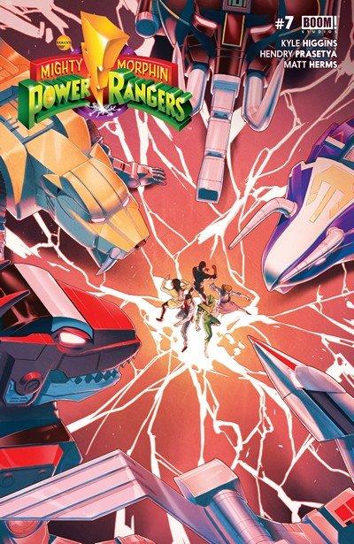 Mighty Morphin' Power Rangers #7 (2016)