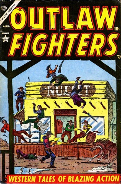 Outlaw Fighters #1 – 5 (1954-1955)