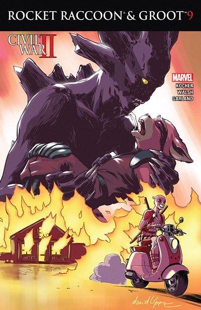 Rocket Raccoon and Groot #9 (2016)