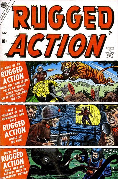 Rugged Action #1 – 4 (1954-1955)