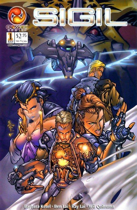 Sigil #1 – 43 (Crossgen) (2000-2003)