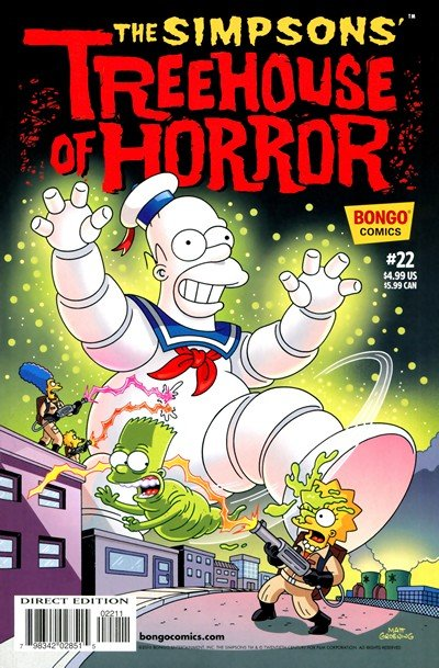 Simpsons' Treehouse of Horror #22 (2016)