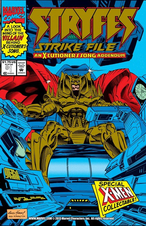 Stryfe's Strike File #1 (1993)