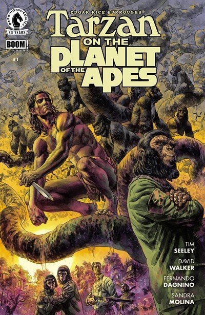Tarzan on the Planet of the Apes #1 (2016)