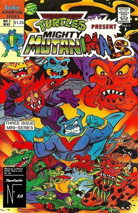 Teenage Mutant Ninja Turtles Present Mighty Mutanimals #1 – 3