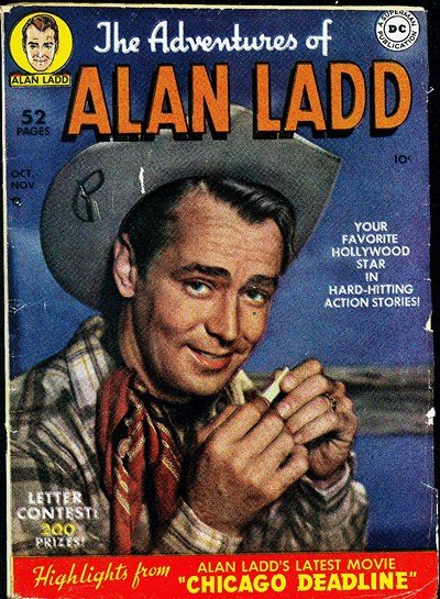 The Adventures of Alan Ladd #1 – 9 (1949-1951)