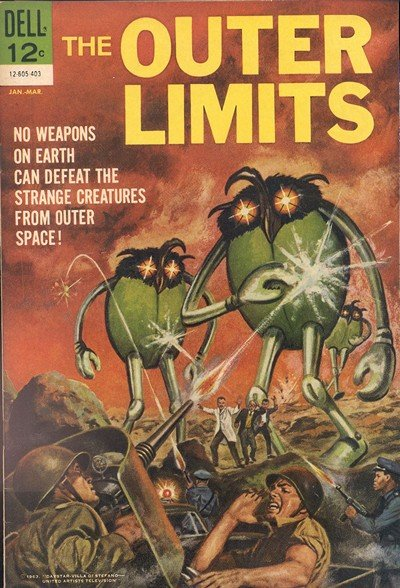 The Outer Limits #1 – 18 (1964-1969)