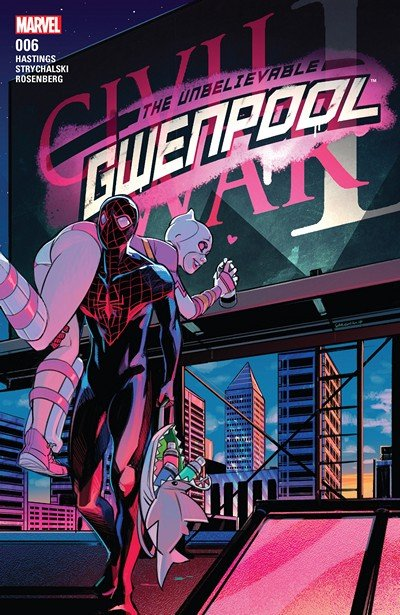 The Unbelievable Gwenpool #6 (2016)
