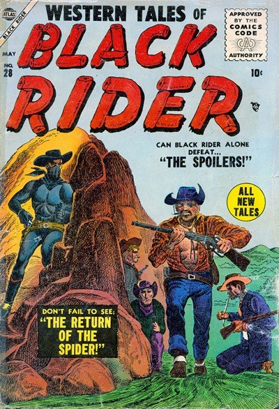 Western Tales of Black Rider #28 – 31 (1955)