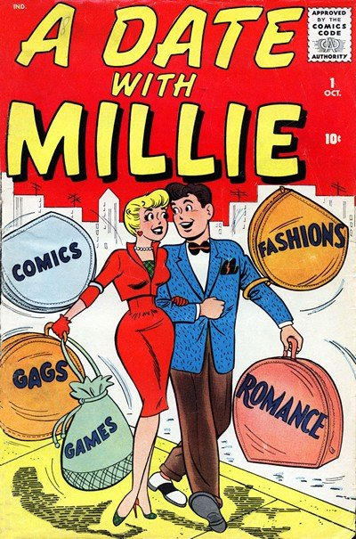 A Date with Millie Vol. 2 #1 – 7 (1959-1960)