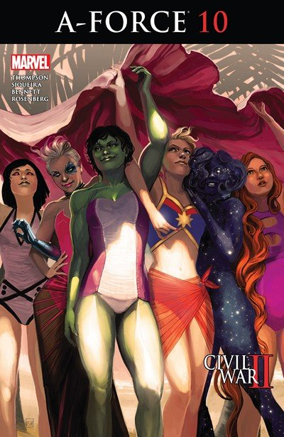 A-Force #1 – 10 (2016)