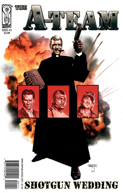 A-Team – Shotgun Wedding #1 – 4 (2010)