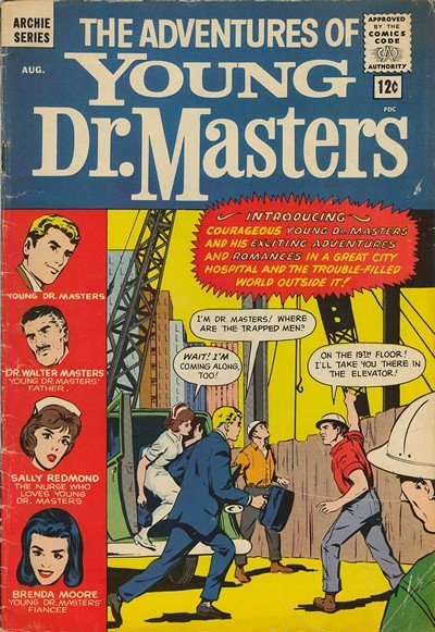Adventures Of Young Doctor Masters #1 – 2 (1964)