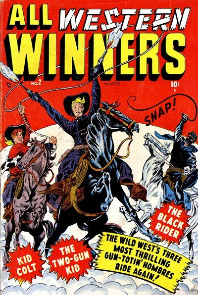 All Western Winners (Western Winners) #2 – 7 (1949)