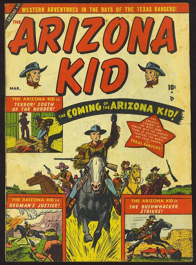 Arizona Kid #1 – 6 (1951-1952)