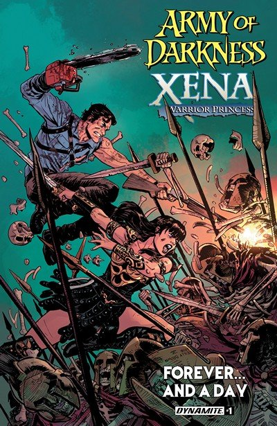 Army Of Darkness Xena Warrior Princess Forever…And A Day #1 (2016)
