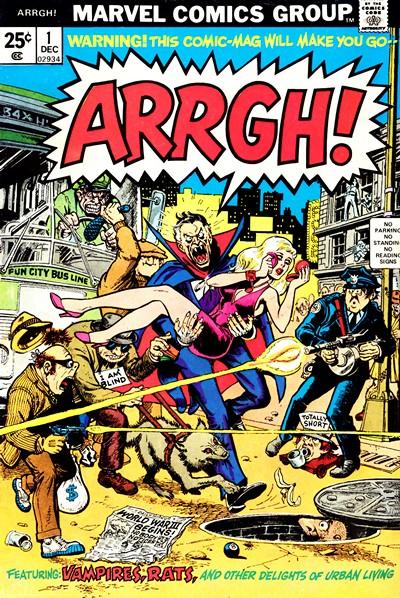 Arrgh! #1 – 5 (1974-1975)
