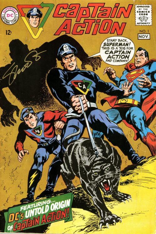 Captain Action #1 – 5 + Captain Action & Action Boy