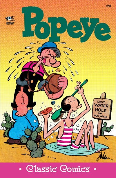Classic Popeye #50 (2016)