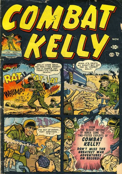 Combat Kelly Vol. 1 #1 – 44 (1951-1957)