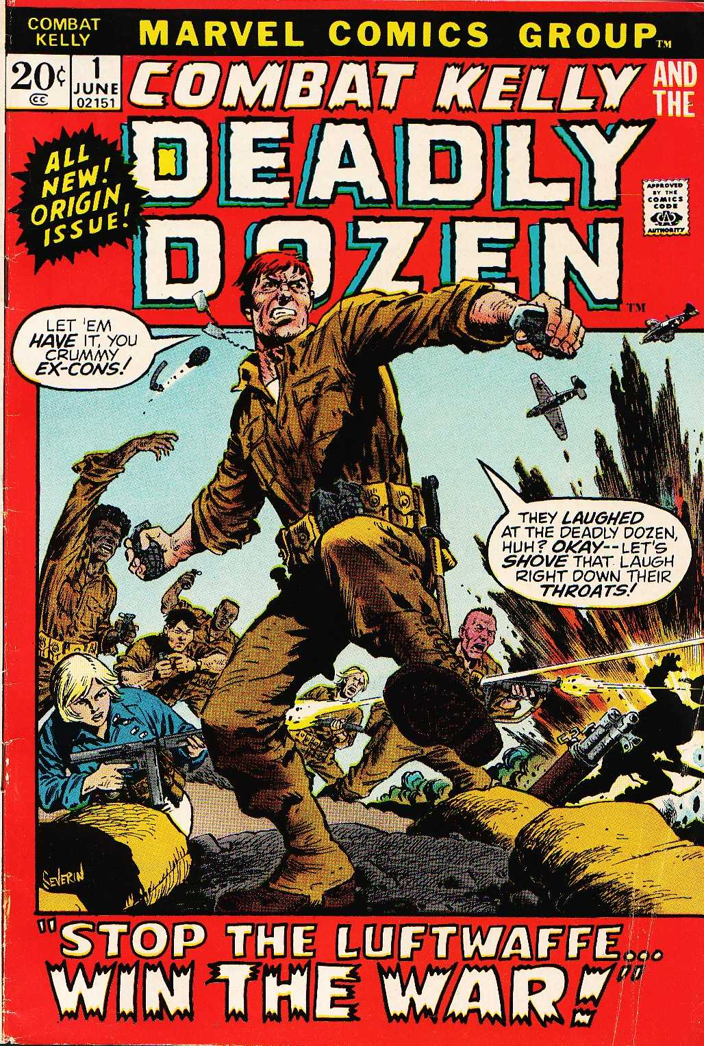 Combat Kelly and the Deadly Dozen #1 – 9 (1972-1973)
