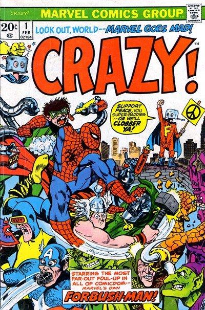 Crazy Vol. 2 #1 – 3 (1973)