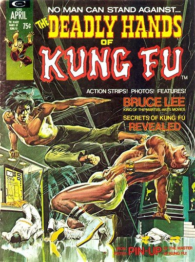 Deadly Hands of Kung Fu Vol. 1 #1 – 33 (1974-1977)