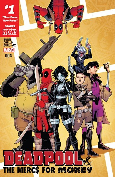 Deadpool & The Mercs For Money #4 (2016)
