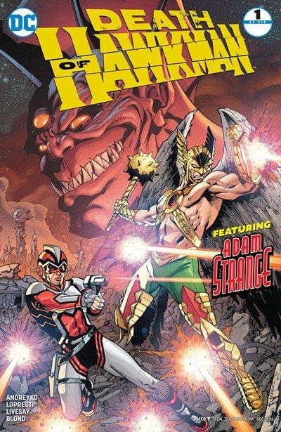 Death of Hawkman #1 (2016)