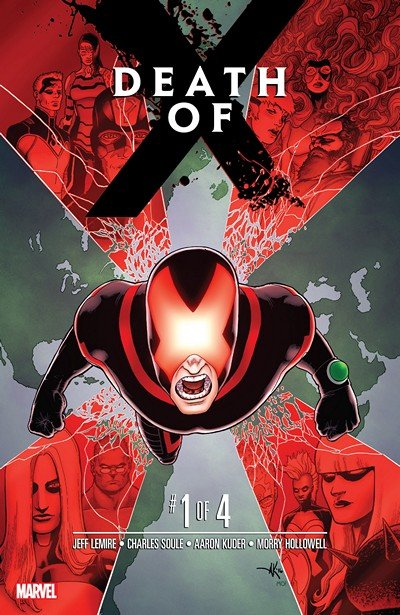 Death of X #1 (2016)