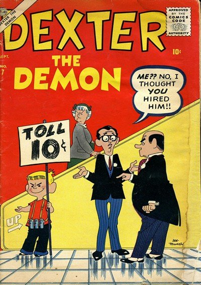 Dexter The Demon #7 (1957)