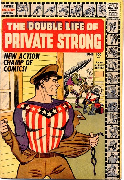 Double Life of Private Strong #1 – 2 (1959)