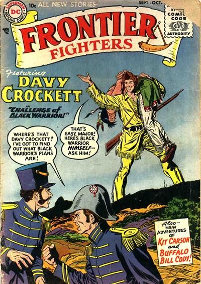 Frontier Fighters #1 – 8 (1955-1956)