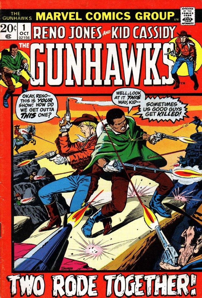 Gunhawks Vol. 1 #1 – 7 (1972-1973)