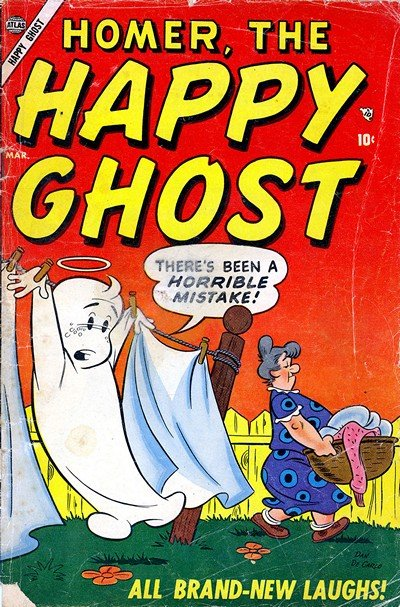 Homer, the Happy Ghost #1 – 22 (1955-1958)