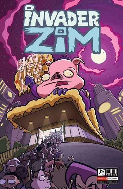 Invader Zim #14 (2016)