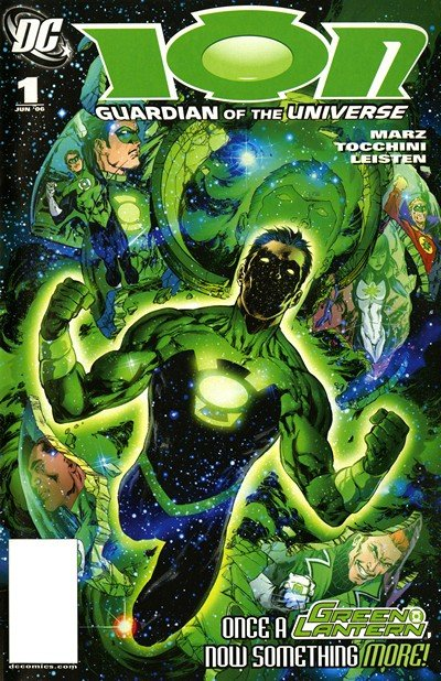 Ion – Guardian of the Universe #1 – 12 (2006-2007)