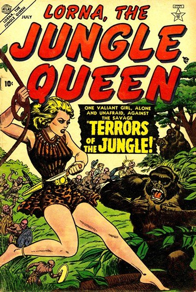 Lorna, the Jungle Queen #1 – 5 (1953-1955)