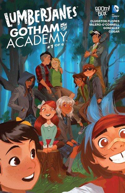 Lumberjanes – Gotham Academy #1 – 6 + TPB (2016-2017)