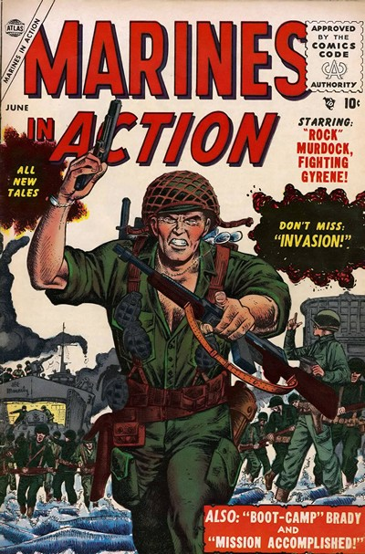 Marines In Action Vol. 1 #1 – 14 (1955-1957)