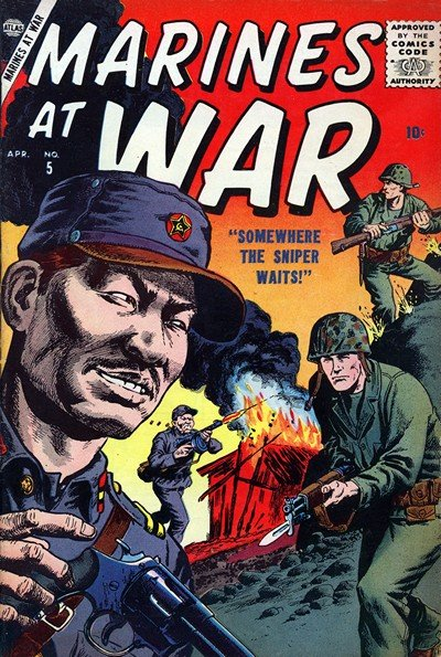 Marines at War Vol. 1 #5 – 7 (1956-1959)