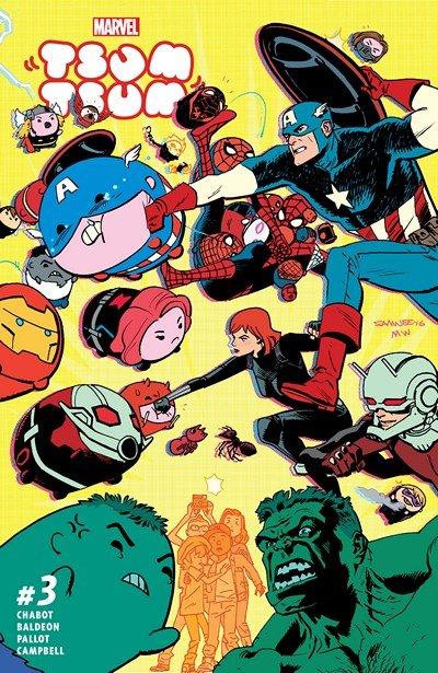 Marvel Tsum Tsum #3 (2016)