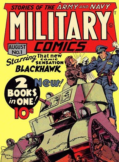 Military Comics #1 – 43 (1941-1945)